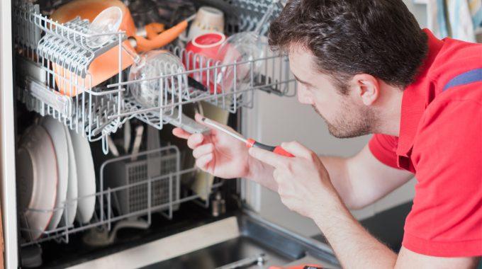 دلایل توقف و خاموش شدن ظرفشویی