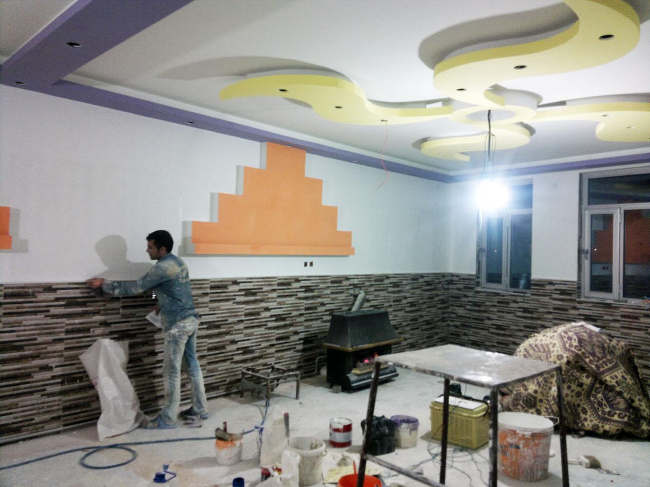 نقاشی ساختمان در کرمان